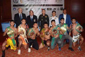 เวทีลุมพินี เตรียมจัดศึกมวยไทยทหารชิงแชมป์โลก WBC WORLD SOLDIER
